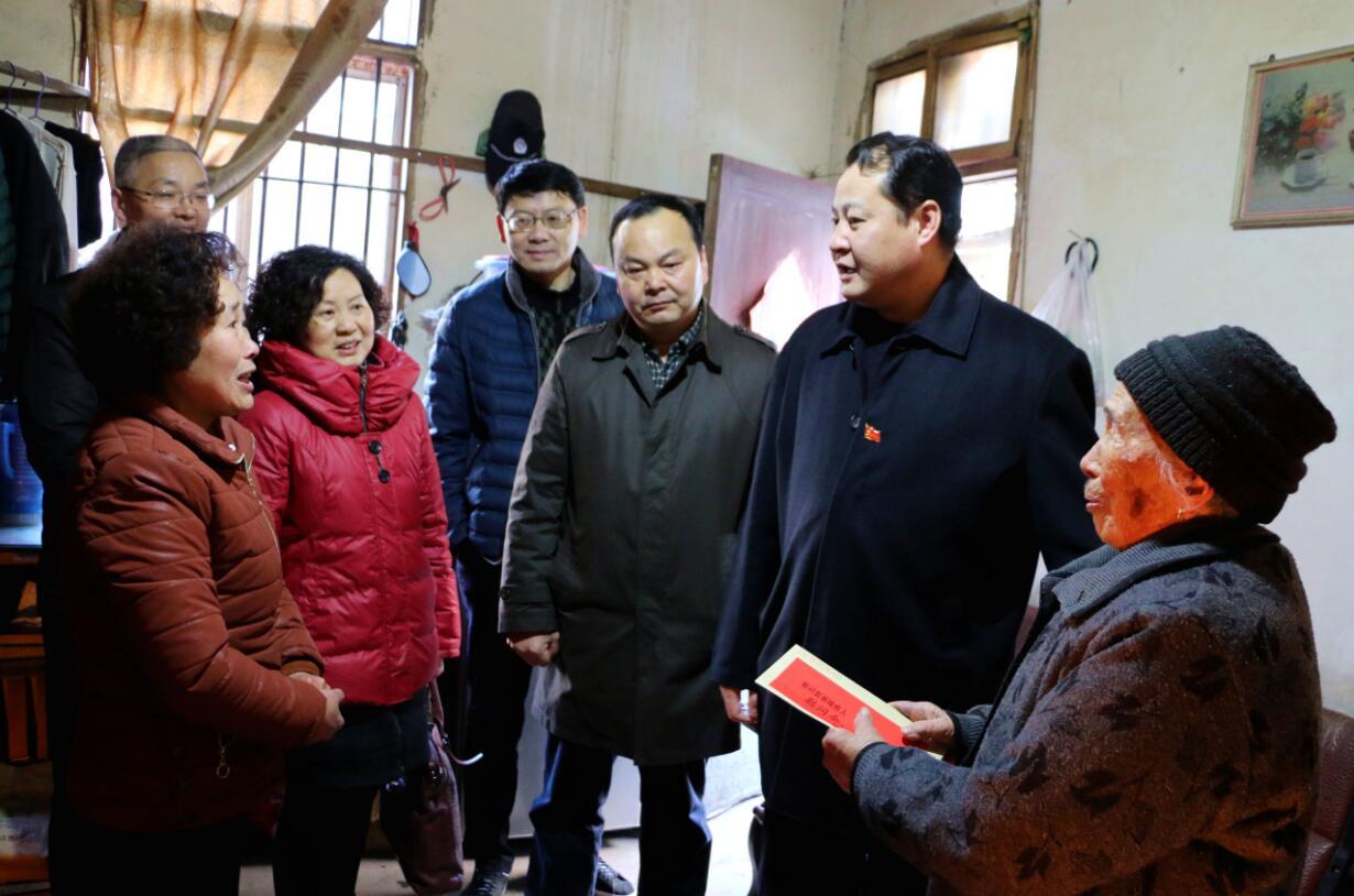 王庆武开展春节走访慰问活动